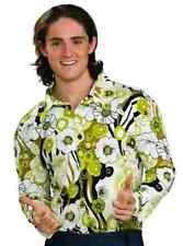 Groovy Shirt 70's Disco Pimp Fancy Dress Up Halloween Costume Accessory 3 COLORS