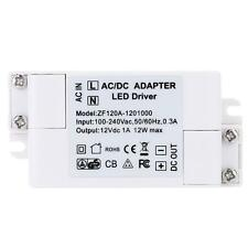 AC 100-240V to DC 12V Adapter LED Driver Power Transformer for Light Bulbs T0EI