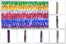 Impex Glitter Chenille Craft Pipe Cleaners - per pack of 100 (ST12-M)