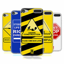 HEAD CASE DESIGNS LIFE SIGNALS SOFT GEL CASE FOR APPLE iPOD TOUCH MP3