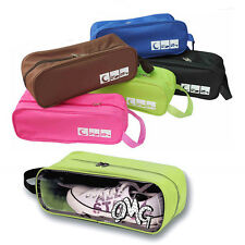 Football Waterproof Shoe Bag Travel Boot Rugby Sports Gym Carry Storage Case Box