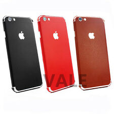 For iPhone 6 6plus 6s PU Leather Full Body Wrap Skin Sticker Protector Skin Case