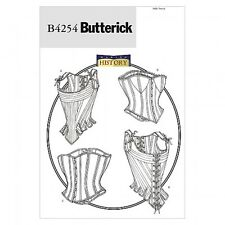 Butterick Ladies Sewing Pattern 4254 Historical Costume Stays & Corsets (...