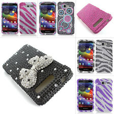For Motorola Electrify M XT901 Colorful Bling Diamond Hard Case Cover Accessory