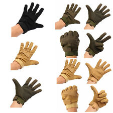 Outdoor Sports Full Finger Military Tactical Airsoft Hunting Riding Game Gloves