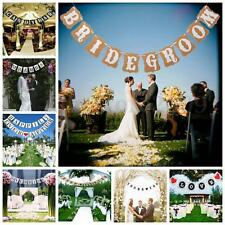 Multi Wedding Just Married Love Bunting Garland Banner Photo Props Party Decor