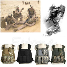New Tactical Military Army Paintball Airsoft Combat Assault Vest Adjustable