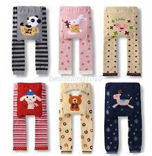 Toddler Warmer PP Pants Baby Lovely Animals Pattern Pants Leggings Trousers B44
