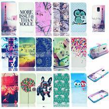 For Samsung Galaxy S6 S5 S4 S3 i9600 Fashion -YB Wallet Leather Stand Cover Case