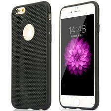 Hybrid Rubber TPU Radiating Shockproof Cover Case for iPhone 5/5s 6 6s 6 Plus