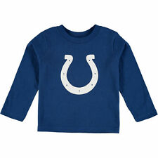 Indianapolis Colts Toddler Team Logo Long Sleeve T-Shirt – Royal Blue - NFL