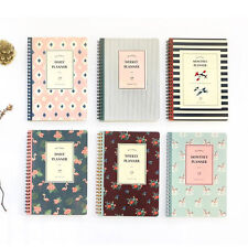 Becoming Planner Daily Weekly Monthly Diary Journal Scheduler Note Schedule Book