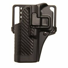 BLACKHAWK 410009BK-R Serpa CQC Concealment Holster-Carbon Fiber, Right Hand,NEW