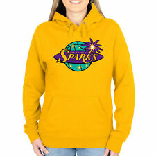 Los Angeles Sparks Women's Primary Logo Pullover Hoodie - Gold - WNBA