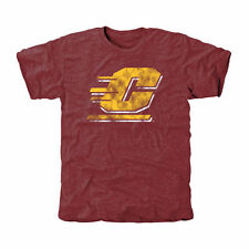 Central Michigan Chippewas Classic Primary Tri-Blend T-Shirt - Maroon - College