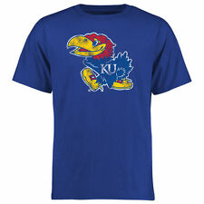 Kansas Jayhawks Big & Tall Classic Primary T-Shirt - Blue - College