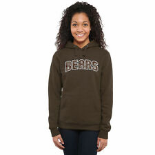 Brown Bears Women's Classic Wordmark Pullover Hoodie - Brown - College