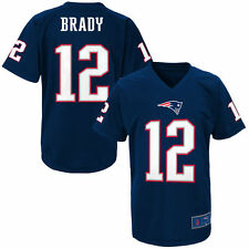 Youth Tom Brady Navy New England Patriots Name & Number Performance T-Shirt