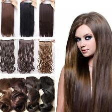One Piece long curl/curly/wavy hair extension clip-on 6 Choices Gift Fashion New