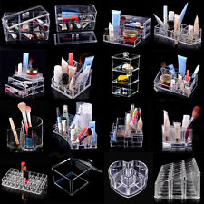 Acrylic Cosmetic Organizer Clear Make-Up Drawers Holder Case Box Jewelry Storage