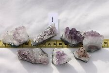Natural Amethyst Geode Gemstone Crystal Quartz Cluster's Mineral Specimens