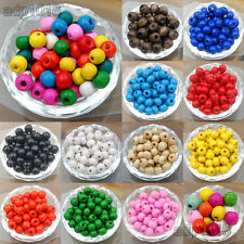Wholesale  Wood Spacer Loose Wooden Craft Beads 4mm 6mm 8mm 10mm 12mm 14mm