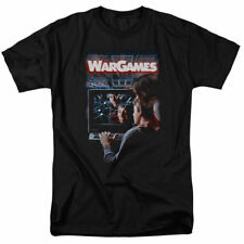 T-Shirts Sizes S-5XL New Authentic WarGames Poster Mens T-Shirt 80s