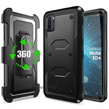 For Cell Phone Hybrid Armor Defender Case Cover With Kickstand Holster Belt Clip