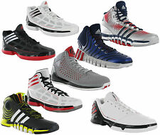 Adidas Basketball Boots Hi-top Mid-Top Sport Mens Sneakers Trainers Shoes