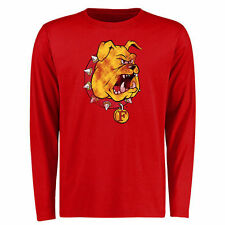 Men's Red Ferris State Bulldogs Big & Tall Classic Primary Long Sleeve T-Shirt