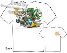 Ed Roth Rat Fink Hot Rod T Shirts Rat Fink Shirts Big Daddy Clothing Outlaw Tee