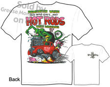Ed Roth Rat Fink Big Daddy Clothing Hot Rod Apparel Rat Fink T Shirts 33 Willys
