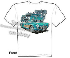 Corvette Shirts Chevy T Shirts C1 Corvette Clothing Chevrolet Apparel 1957 Tee