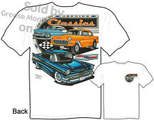 Chevy T Shirts Chevrolet Apparel Automotive Shirts Classic Car 1955 1956 1957