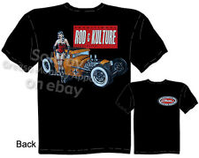 1930 1931 Coupe T-shirt, Pin Up Hot Rod Rat Rod Ford Tee, Sz M L XL 2XL 3XL, New