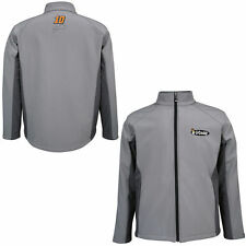 Danica Patrick Chase Authentics Go Daddy Soft Shell Full Zip Jacket - Gray