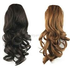 Fashion Women's Drawstring Medium Ponytail Extension Wavy Synthetic Hairpiece