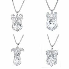 1 pc Fashion Pet Lovely Dog Puppy Cute Animal Funny Steel Pendant Necklace Gifts