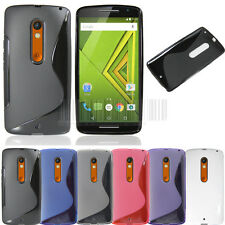 Ultra Thin Rubber Soft Gel Tpu Case Cover Skin For Motorola Moto X Play XT1562