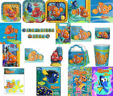 Finding Nemo Party Supplies-You choose plates-napkins-banner-invites-thanks-cand