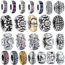 Fashion Spacer Bead 925 Silver Sterling Charm Fine Jewelry For European Bracelet