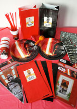 STAR WARS Birthday Party Pack/Set/Kit-Plates, Tableware, Personalised Party Bags