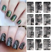 Large Nail Stamping Plate CK Serie Resusable Steel Image Template Art 24 Style