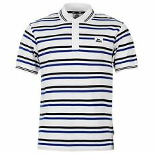 Lonsdale Mens Stripe Polo T Shirt Short Sleeve Classic Fit Tee Top Clothing
