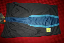MENS TEK GEAR REVERSIBLE BASKETBALL SHORTS GRAY & BLUE XL POCKETS NWT