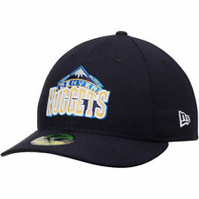 Men's New Era Navy Denver Nuggets Low Profile 59FIFTY Fitted Hat - NBA