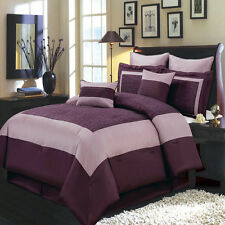 Wendy 12 PC Comforter Set Includes Comforter Skirt Shams Pillows 100% Polyester