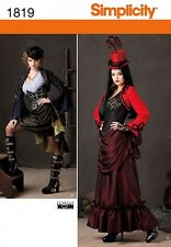 Simplicity Ladies Sewing Pattern 1819 Victorian Era Steam Punk Costumes (Simp...