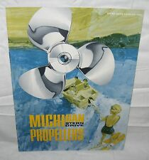 Original 1966 MICHIGAN Stern Drive PROPELLERS CATALOG boat boating ship