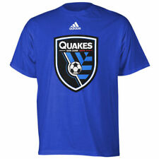 San Jose Earthquakes adidas Youth Primary Logo T-Shirt - Blue - MLS